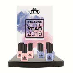 Colour of the Year 2016 - Nail Polish Display