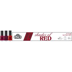 Red Nail Polish Trio 3 x 8ml