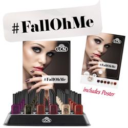 Fall Oh Me Nail Polish Display - 7 pc x 6 shades + display