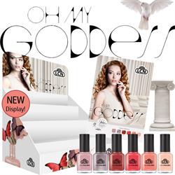 Oh My Goddess Nail Polish Trend Display