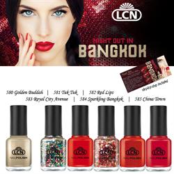 Night Out in Bangkok Nail Polish Set 6 x 8ml