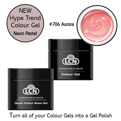Quick Colour Base Gel 10ml with Hype Trend # 706