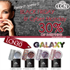 Additional Images for GALAXY - Colour Gel Glitter set