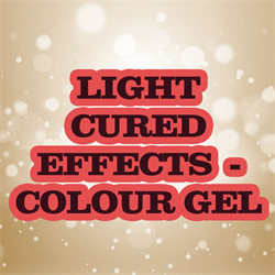 Light Cured Effects - Colour Gel