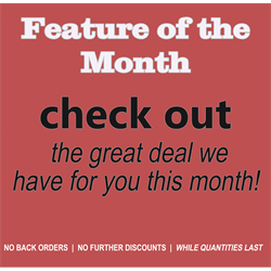 Feature of the MONTH