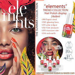 Elements Trend Collection Nail Polish  24 x 8ml