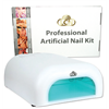 Additional Images for Professional Artificial Nail Kit            ##