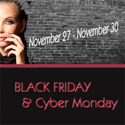 Black Friday/ Cyber Monday  PROMO