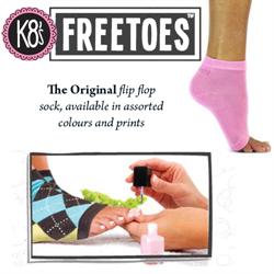 FreeToes Pedicure Socks