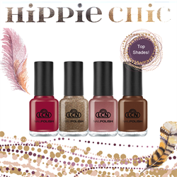 Hippie Chic Nail Polish Trend Set