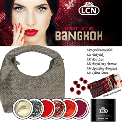Night out in Bangkok Colour Gel  Trendset 6 x  5 ml