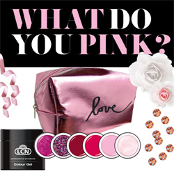 What Do You Pink Colour Gel Set 6 x 5ml