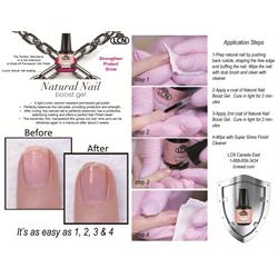 Natural Nail Boost Gel 10ml, Clear